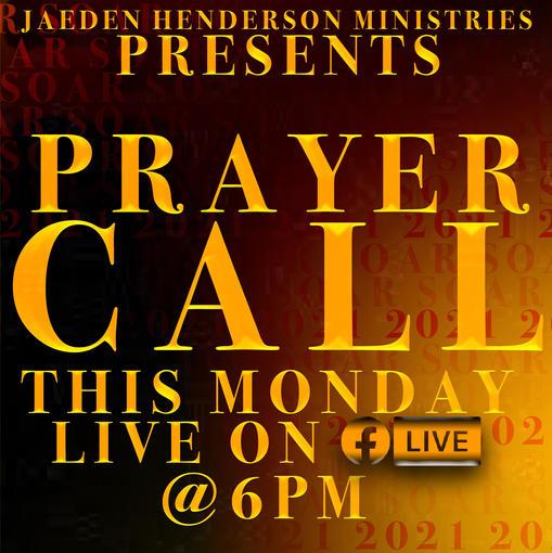 SOAR! Prayer Call Flyer