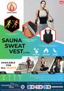 Sauna Sweat Vest (P-0596) Zip Vest (P-0597)
