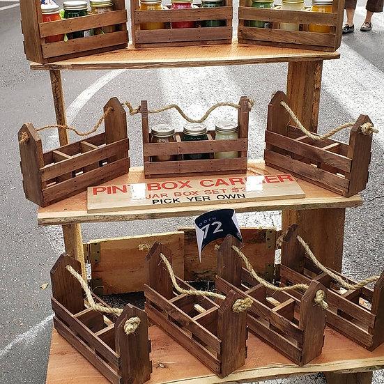 Christmas Wood Box