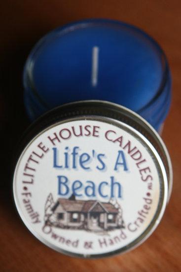 Life's a Beach - Jelly Jar