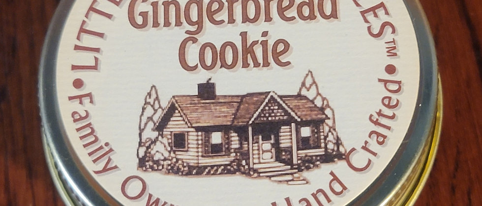 Gingerbread Cookie - 3 Oz. Jelly Jar Candle