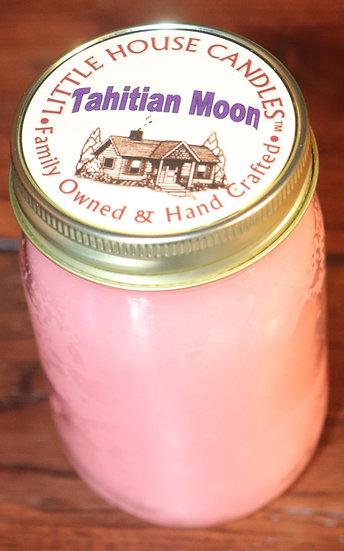 Tahitian Moon - Pint Mason Jar
