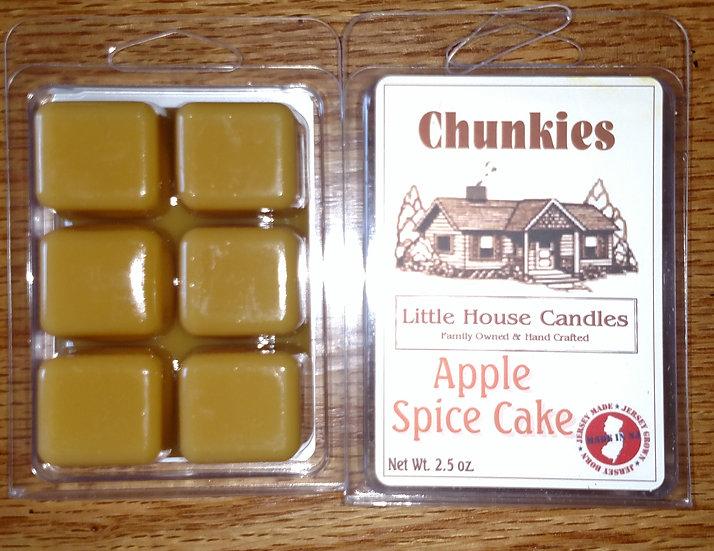 Apple Spice Cake - 2.5 Oz. Little House Candle Chunkie Wax Melt