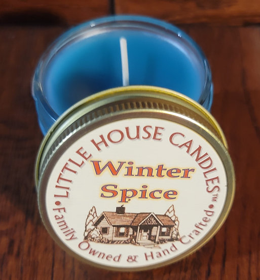 Winter Spice -  Little House Candles - 3 oz. Jelly Jar