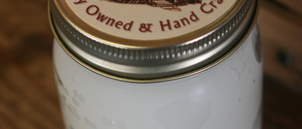 Clean Linen 13 Oz. Pint Mason Candle