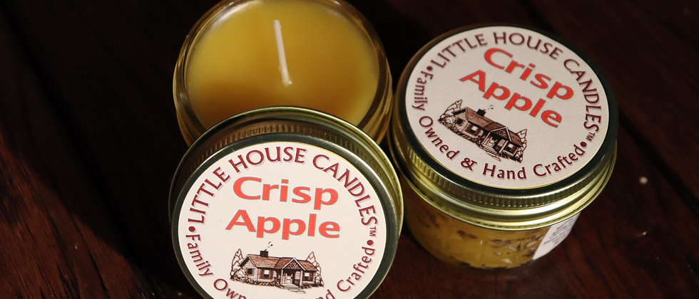 Crisp Apple - 3 Oz. Small Quilted Jelly Jar