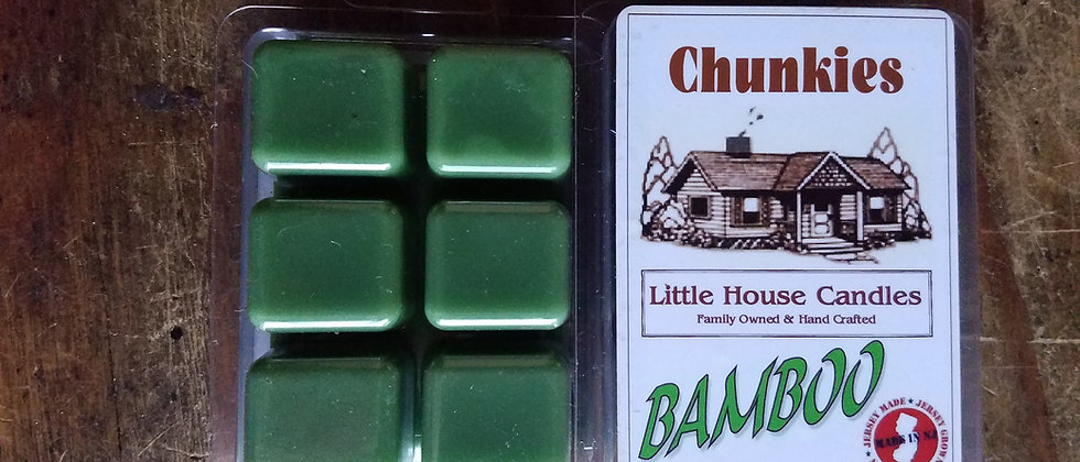 Bamboo Chunkie 2.5 Oz. Wax Melt