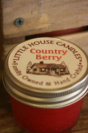 Country Berry - Jelly Jar