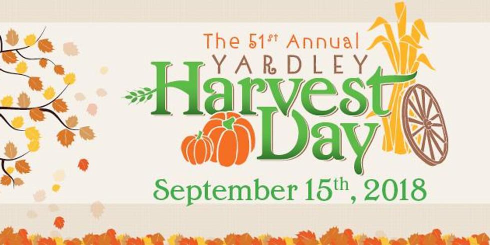 Yardley Harvest Day