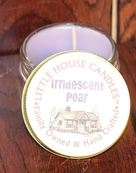 Iridescent Pear -  3 Oz. Jelly Jar