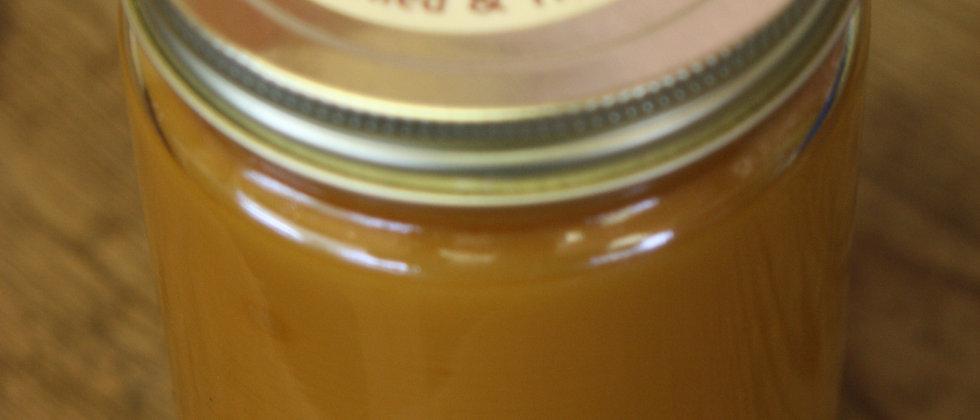 Apple Spice Cake - 27 Oz. Heavily Scented Little House Candle Quart Mason Jar
