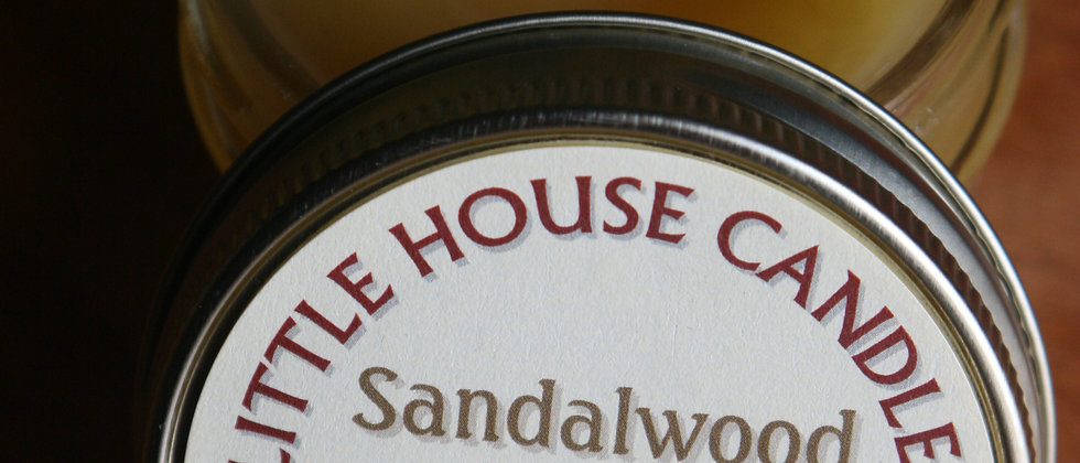 Sandalwood  - Jelly Jar