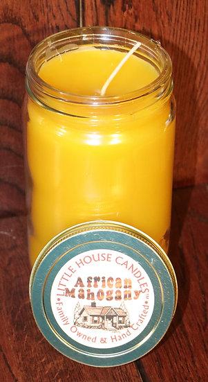 African Mahogany - 27 Oz. Large Quart Mason Jar