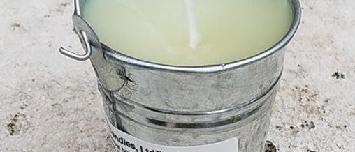 Skeeter Deleter Pale Candle - Small 3 Oz.