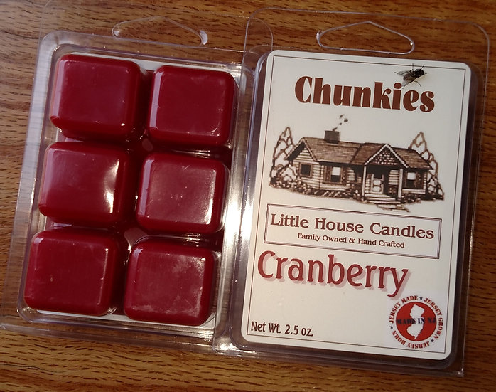 Cranberry Chunkie Wax