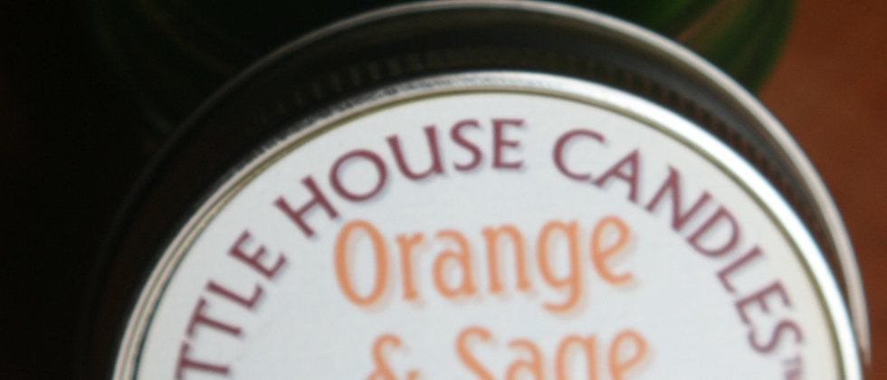 Orange & Sage  - Jelly Jar