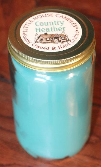 Country Heather - Quart Mason Jar