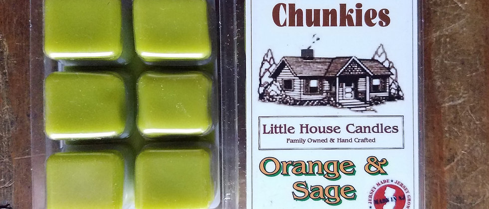 Orange & Sage. Chunkie