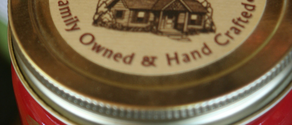 Apple CInnamon - 27 Oz.-Heavily Scented-Little House Candle - Quart Candle