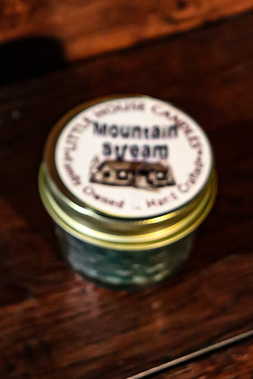 Mountain Stream - 3Oz Quilted Jelly Jar