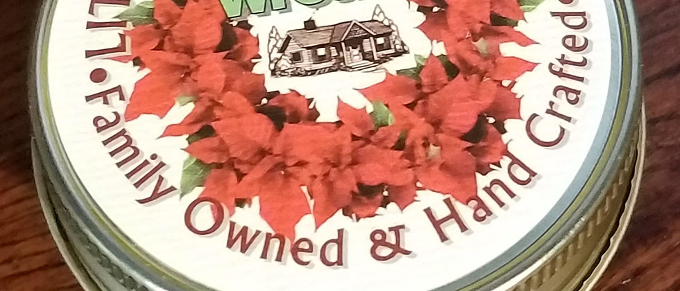 Festive Wreath - Jelly Jar