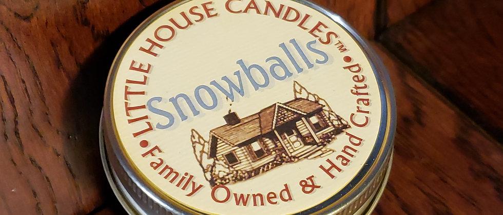 Snowballs Jelly Jar