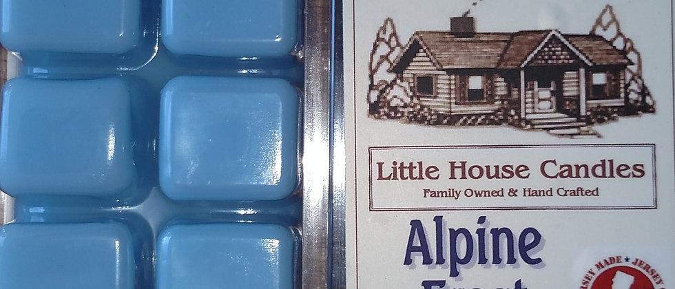 Alpine Frost 2.5 Oz. Chunkie Wax Melt - Little House Candles