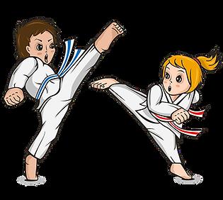 Kinderkampfkunstschule für Kinder zwischen 6 bis 10 Jahren
