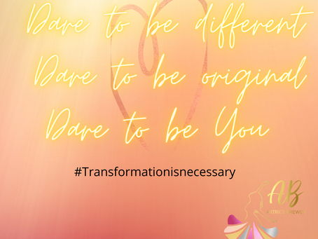 Dare to be different...
