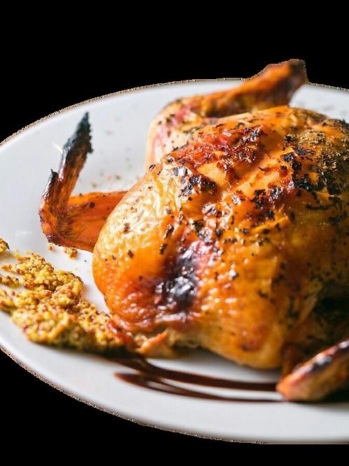ハーブ&にんにくたっぷり【ごちそう丸鶏】1羽