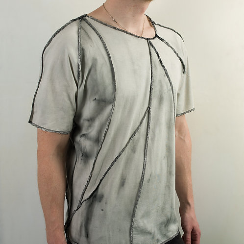 Post apocalyptic organic cotton t-shirt