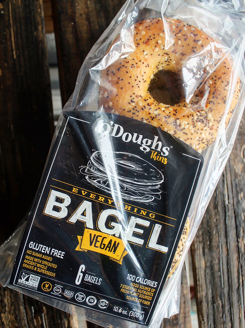 Bagel Thins Everything, O'Doughs, Gluten Free 10.6oz