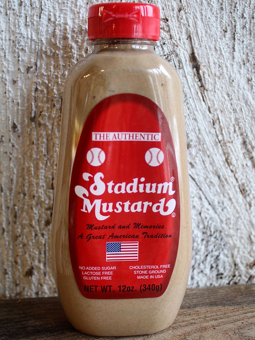 The Authentic Stadium Mustard, 12oz