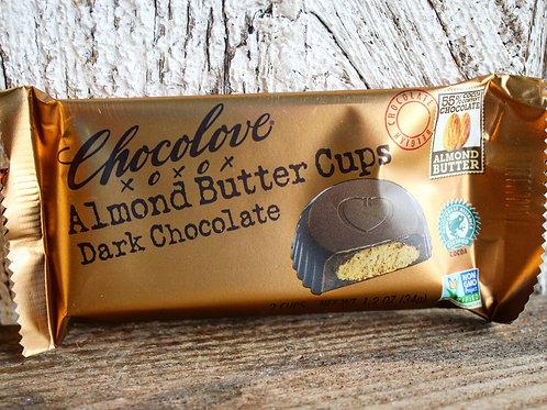 Almond Butter Dark Chocolate Cups, 1.2oz