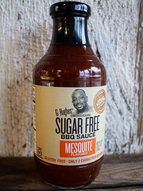 Mesquite Barbecue Sauce, G. Hugh's, 18 oz.
