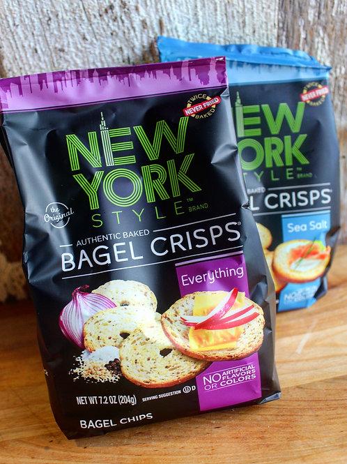 New York Bagel Crisps, 7.2oz