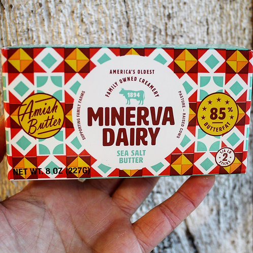 Minerva Dairy Stick Butter, 8oz
