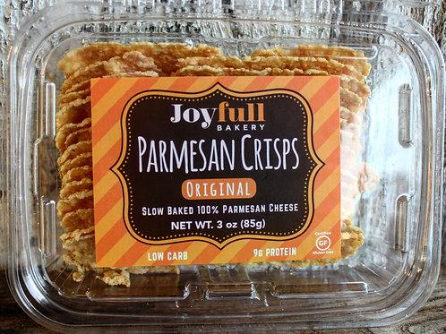 Parmesan Crisps, Joyfull, 3oz