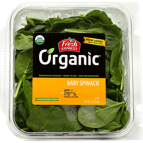 Baby Spinach, 5oz