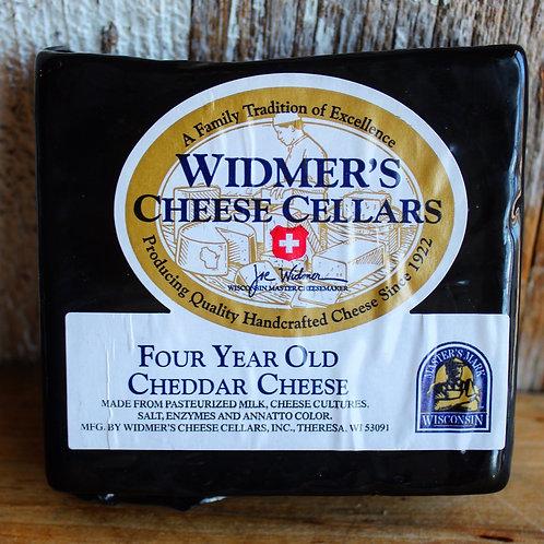 4-Year Aged Cheddar Cheese, Widmer's Cheese Cellars, 8 oz.