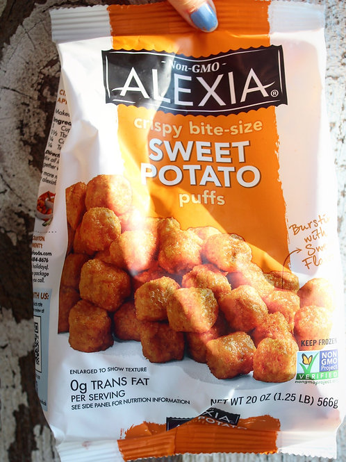 Sweet Potato Puffs, Alexia, 20 oz.