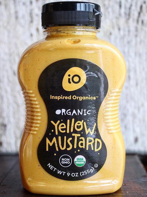 Yellow Mustard, Inspired Organics, 9 oz.