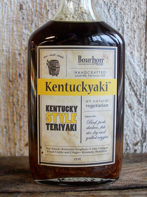 Kentuckyaki, Bourbon Barrel Foods, 375ml