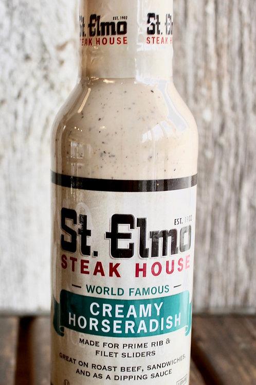 Creamy Horseradish, St. Elmo's, 12 oz.
