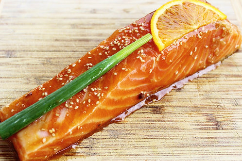 Orange Ginger Marinated Faroe Salmon 2/pk