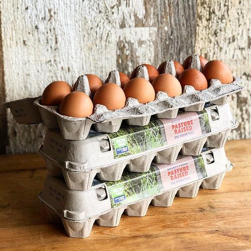 Eggs, Brunty Farms, 1 dz
