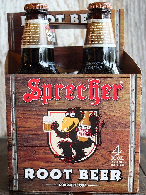 Root beer, Sprecher, 4/pk
