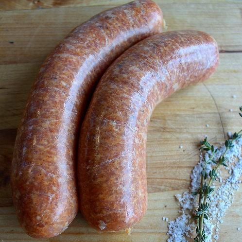 Hot Italian Pork Sausage Links, Brunty Farms, 4/pk