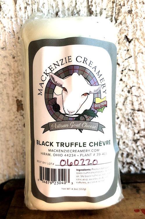 Black Truffle Chèvre, Mackenzie Creamery, 4 oz.