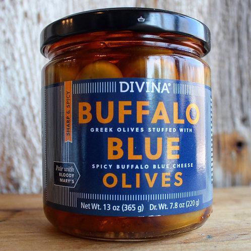 Buffalo Blue Olives, Divina, 13 oz. Jar